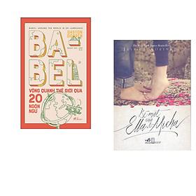 Combo 2 cuốn sách: Babel vòng quanh thế giới qua 20 ngôn ngữ + Bí mật của Ella & Micha