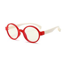 Kính gọng dẻo tròn trẻ em, Kính Nobita thời trang cho bé TN18