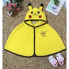 Áo choàng Pikachu cho bé từ 0 – 3 tuổi
