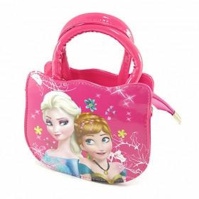 Hình đại diện sản phẩm Túi xách đeo chéo quai xách in hình công chúa Elsa Anna cho bé