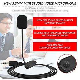 Micro Thu Âm cài áo mini giắc cắm 3.5mm cho máy tính bàn, Laptop, live stream , quay video, ghi âm, ghi âm nhạc cụ, Vlog, Chơi game, Podcasting, trò chuyện qua Zoom, MSN, SKYPE và hát trên Internet, TN Bluetooth Siêu Bass Có Mic Đàm Thoại