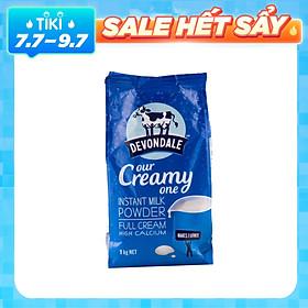Sữa Bột nguyên kem Devondale Úc (Túi 1kg)