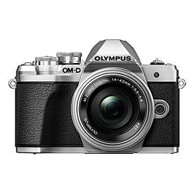 Máy Ảnh Olympus OM-D E-M10 Mark III + Lens Kit 14-42mm EZ (Bạc) - Hàng Chính Hãng