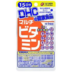Thực phẩm bảo vệ sức khỏe Viên uống DHC Nhật Bản Multi Vitamin Tổng