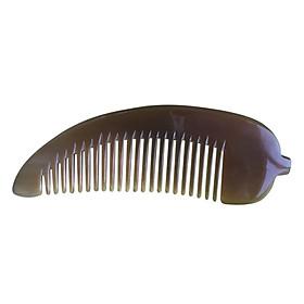 Lược Sừng Bò Châu Phi L30 Me Lá (Dài 13cm x 4cm)