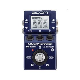 Bàn đạp ghita có Bluetooth ZOOM MS-100BT - Hàng chính hãng