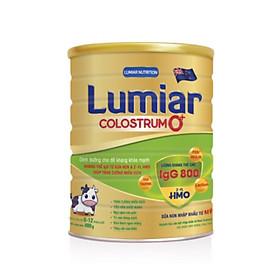 Sữa bột Lumiar Colostrum 0+ 400g - Dinh dưỡng cho đề kháng khỏe mạnh, kháng thể IgG từ sữa non & 2′-FL HMO giúp tăng cường miễn dịch.