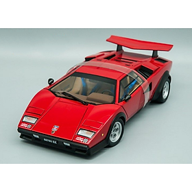 Xe Mô Hình Lamborghini Countach Walter Wolf Edition 1:18 Autoart - 74651aa2 (Đỏ)