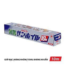 Giấy bạc (màng nhôm) bọc thực phẩm Toyal (Nhật), kháng khuẩn 25cm x 10m