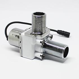 Van điện từ kích xung 2 chiều inox cao cấp Transl - 4.5V DC - Độ rộng xung 25ms - ren ống 21mm