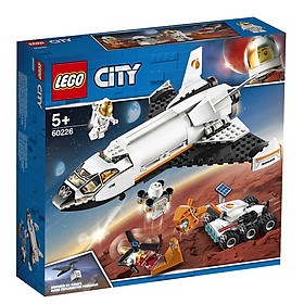 Bộ đồ chơi lắp ráp LEGO phiên bản CITY Tàu con thoi sao hỏa - Mars space shuttle cho bé từ 5 tuổi