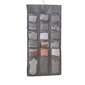 Túi Đựng Đồ Lót, Tất Vớ Treo Tủ 30 Ô Hai Mặt | Vải Oxford Chống Ẩm, Chống Bụi