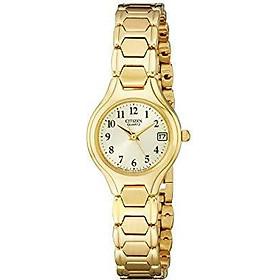 Citizen Women's Quartz Stainless Steel Watch with Date, EU2252-56P