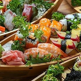 Sushi House_Thuyền Sashimi Sushi 12 Món Dành Cho 02 Người