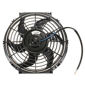 "10"" 80W 12V Car Electric Radiator / Intercooler Slimline Push Pull Cooling Fan"