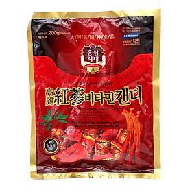 Kẹo Hương Vị Sâm Korean Red Ginseng Candy