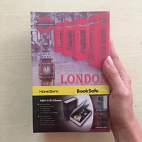 Két sắt giả sách London size nhỏ - GD020