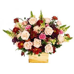 """Hộp hoa tươi - Hộp Hoa """"Bốn Mùa"""" 4032"""