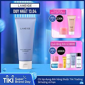 Sữa Rửa Mặt Sạch Sâu Cho Da Dầu Và Da Hỗn Hợp Laneige Multi Deep Clean Cleanser (150ml)