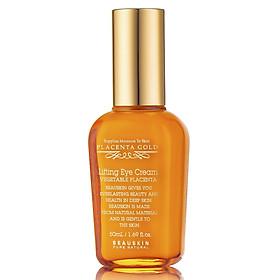 Kem dưỡng da vùng mắt Beauskin Placenta Gold Lifting Eye Cream Hàn quốc (50ml) kèm 1 bông tẩy trang