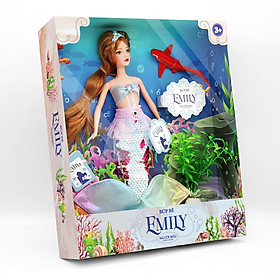 Đồ Chơi Búp Bê Cho Bé -  Búp bê Emily - Người mẫu thời trang DK 81031