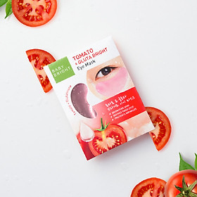 Mặt nạ dưỡng sáng da mắt Cà chua và Gluta Baby Bright Tomato & Gluta Eye Mask 1 Pair 15g