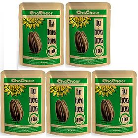 Hạt hướng dương Chacheer vị Dừa-130g/gói ( Lốc 5 gói )