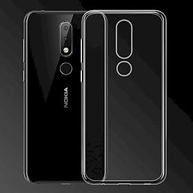 Ốp lưng dẻo Nokia 6.1 Plus 2018 Ultra Thin (Trong suốt) - Hàng chính hãng