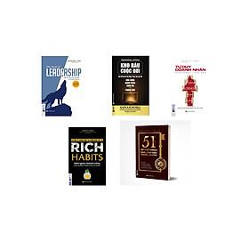 combo Bộ sách: Tư duy khác biệt làm nên người lãnh đạo xuất sắc (tặng kèm sổ tay hc + kèm bookmark)