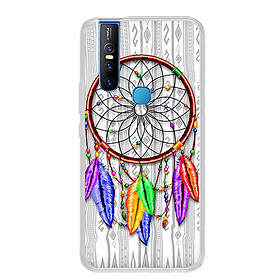 Ốp lưng dẻo cho điện thoại Vivo V15 - 0219 DREAMCATCHER07 - Hàng Chính Hãng