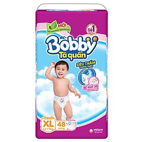 Combo 3 Gói Tã Quần Bobby Gói Siêu Lớn XL48 (48 Miếng)-1