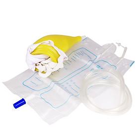 Dụng cụ đi tiểu cho người bệnh - Túi hỗ trợ đi tiểu nam nữ đều dùng được