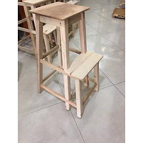 Ghế thắp hương (thắp nhang) - gỗ mộc