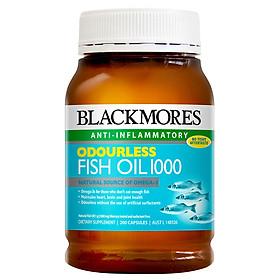 Thực Phẩm Chức Năng Blackmores Odourless Fish Oil 1000 (200 viên)