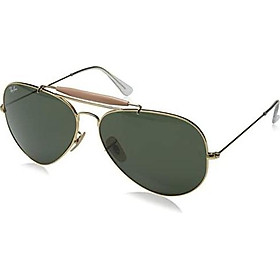 Ray-Ban RB3029 Outdoorsman II Aviator Sunglasses
