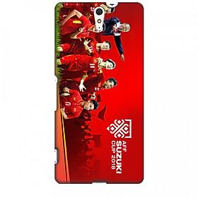 Ốp Lưng Dành Cho Sony Xperia C5ULTRA AFF CUP Đội Tuyển Việt Nam - Mẫu 1