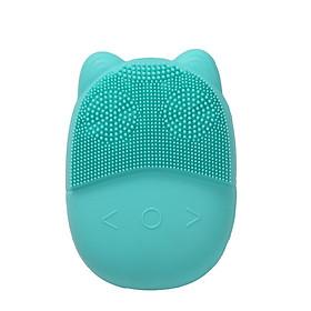 Máy rửa mặt mini massage tích hợp sóng âm BR-1023