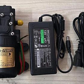 Máy bơm nước mini Sinleader kèm nguồn Adaptor 12V