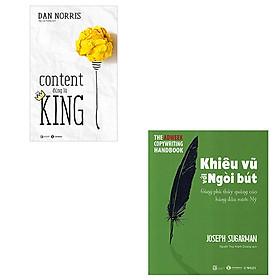 Combo 2 cuốn sách Content Đúng Là King - Khiêu Vũ Với Ngòi Bút