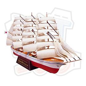 Mô hình giấy tàu thuyền quân sự Sailship - Nippon Maru