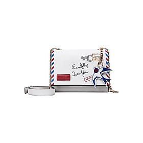 Túi Đeo Chéo Nữ Phong Cách Naza T60222 (21 x 16 cm) - Trắng