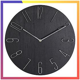 Đồng hồ treo tường trang trí đẹp, đồng hồ treo tường kích thước lớn, thiết kế sắc sảo