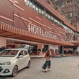 Gói 3N2Đ Colline Hotel 4* Đà Lạt - Gồm 02 Bữa Sáng, 01 Bữa Trưa/Tối, Ngay Trung Tâm, Sát Chợ Và Hồ Xuân Hương