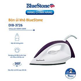 Bàn Là Khô Bluestone DIB-3726 (1300W) - Hàng Chính Hãng