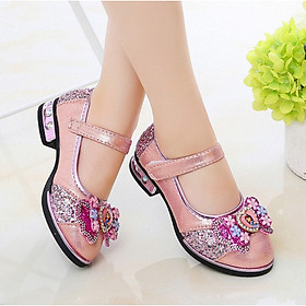 Giày búp bê hàn quốc nơ xinh cho bé gái 3 - 13 tuổi - G106