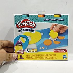 Bộ Đồ Chơi Đất Nặn Hình Học Cơ Bản - Play-Doh E3705 - Mẫu 1 - Shapes