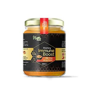 Mật ong nguyên chất xuất khẩu chiết xuất Nghệ 500Gr HeVieFood