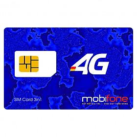 SIM 4G Mobifone MDT150A Tặng Ngay 150GB/Tháng Không Bị Chia Nhỏ Theo Ngày - Mẫu ngẫu nhiên