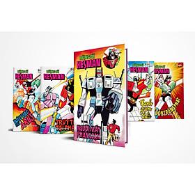 [Download Sách] Boxset 5 : 5 tập Dũng Sĩ HesMan ( Từ tập 21 đến tập 25 )