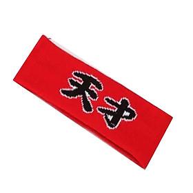 Headband thiên tài đỏ băng đô thể thao bts